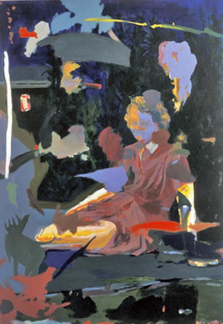 Dora Knell (crylic on canvas 5x7 ft)