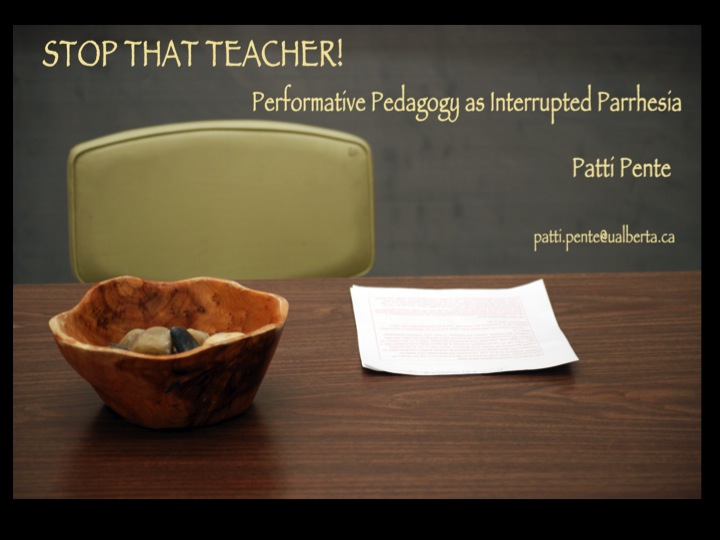 Stop that Teacher (performance)